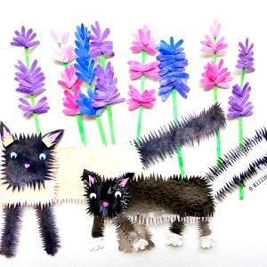 Cats & Lavender